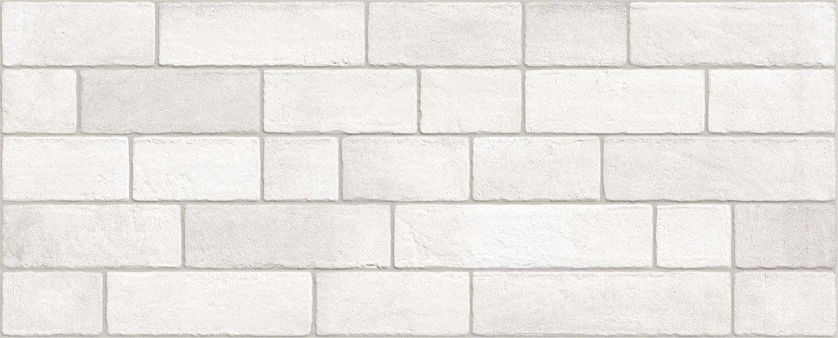 Parement mural briquettes Marlon Nieve 20x50 cm - 1m² - zoom