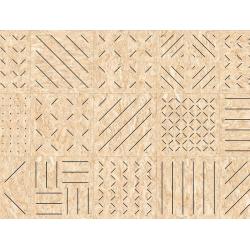 Carrelage imitation bois aggloméré MASAI-R Grafito 59.3X59.3 cm - 1.06 m² Vives Azulejos y Gres