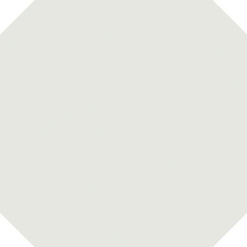 Carrelage octogonal 20x20 blanc mat et cabochons CABARET NACAR - 1m² - zoom
