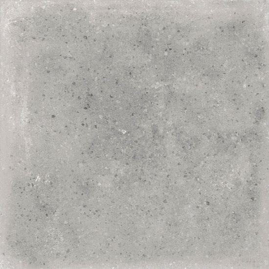 Carrelage uni patiné gris 20x20 cm Orchard Cemento anti-dérapant R13 - 1m² - zoom