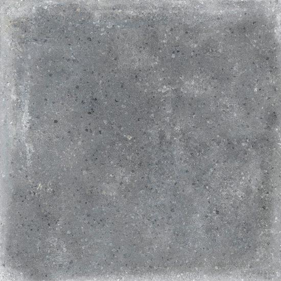 Carrelage uni patiné anthracite 20x20 cm Orchard Grafito anti-dérapant R13 - 1m² - zoom
