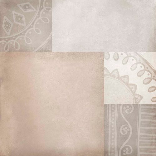 Carrelage imitation ciment 60x60 cm Ornano anti-dérapant R10 - 1.08m² - zoom