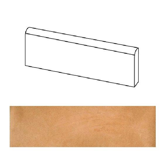 Plinthe beige orangé mat 9.4x60cm LAVERTON NATURAL - 1.20ml - zoom