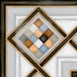 Carrelage d'angle style ciment 20x20 cm POMBO-3 - unité Vives Azulejos y Gres