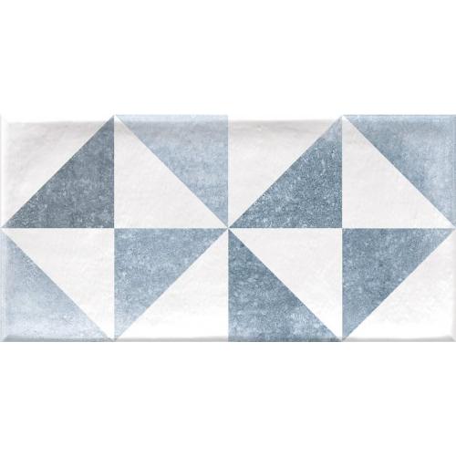 Faience murale scandinave patinée triangles pastels THAI 10x20cm - 1.36m² Vives Azulejos y Gres