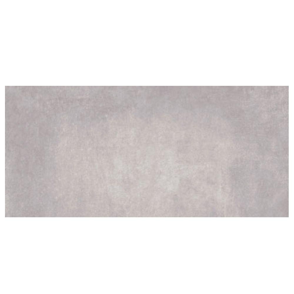 Carrelage gris ciment rectifié 45x90cm RUHR-R CEMENTO - 1.19m² - zoom