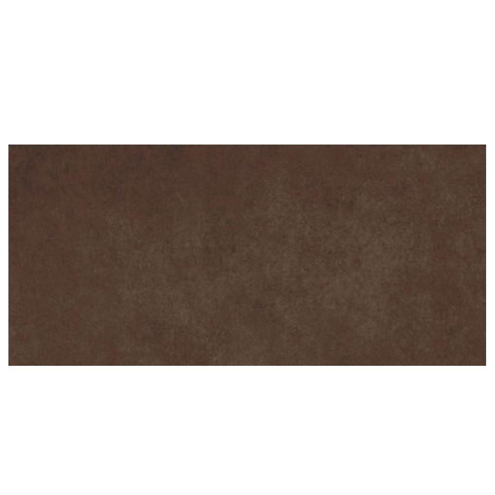 Carrelage marron chocolat rectifié 45x90cm RUHR-R CHOCOLATE - 1.19m² - zoom