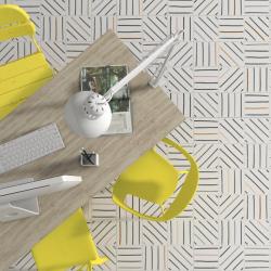 Carrelage géométrique TIEBEL décoré 20x20 - 1m² Vives Azulejos y Gres