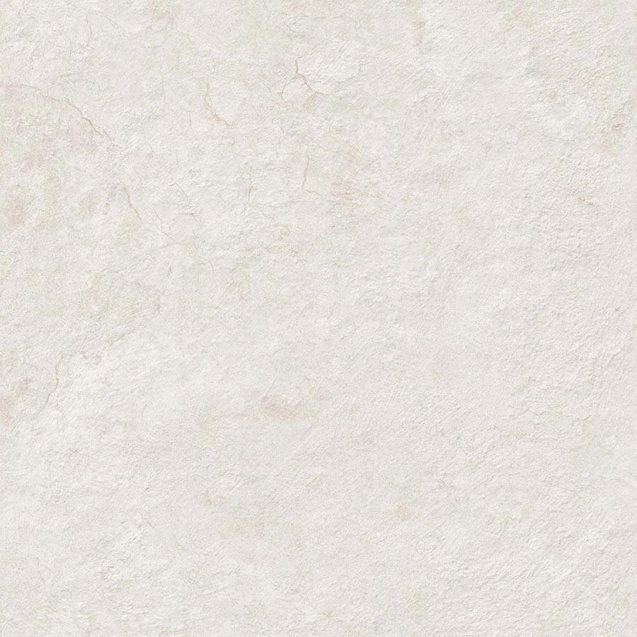 Carrelage moderne extérieur BLANC 60x60 cm antidérapant R13 DELTA BLANC - 1.44m² - zoom
