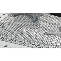 Carrelage imitation ciment décor noir et blanc 20x20 cm VODEVIL PAIX SOMBRA - 1m² Vives Azulejos y Gres
