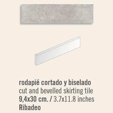Plinthe intérieur Ribadeo 9.4x30 cm - 13.50mL - zoom