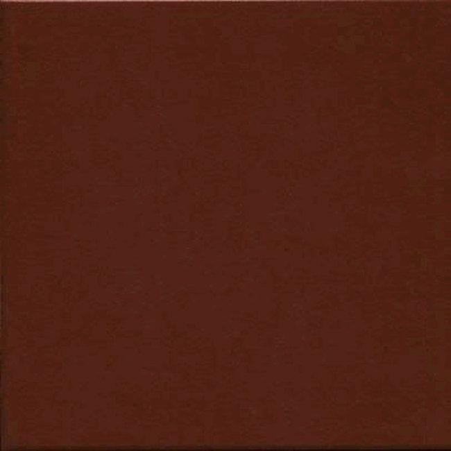Carrelage uni 31.6x31.6 cm acajou TOWN CAOBA - 1m² - zoom
