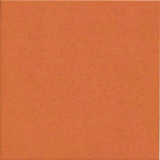 Carrelage uni 31.6x31.6 cm orange TOWN NARANJA - 1m² - zoom
