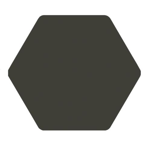 Carrelage tomette anthracite 25x29 cm TOSCANA MARENGO - 1m² - zoom