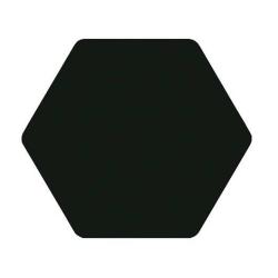 Carrelage tomette noir 25x29cm TOSCANA NEGRO- 1m² Bestile