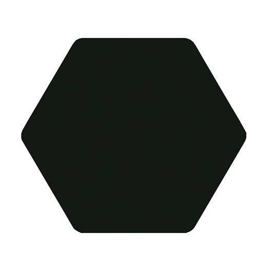 Carrelage tomette noir 25x29cm TOSCANA NEGRO- 1m² - zoom