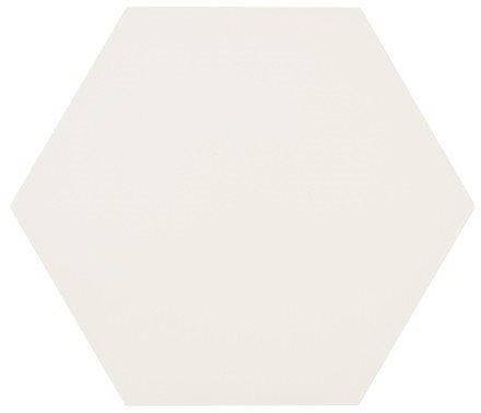 Tomette blanche MERAKI BASE BLANCO 19.8x22.8 cm - 0.84m² - zoom