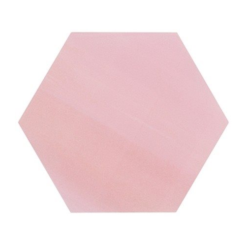 Tomette unie rose série dandelion MERAKI ROSA BASE 19.8x22.8 cm - 0.84m² Bestile