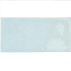 Faience effet zellige bleu ciel 6.5x13.2 VILLAGE CLOUD 25585- 0.5m² Equipe