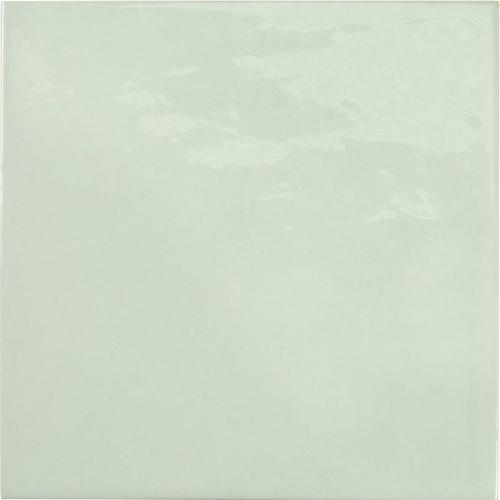 Faience effet zellige vert d'eau 13.2x13.2 VILLAGE MINT 25622 - 1 m² Equipe