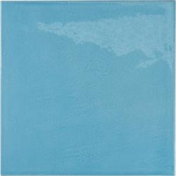 Faience effet zellige bleu azur 13.2x13.2 VILLAGE AZURE BLUE 25625 - 1m² Equipe