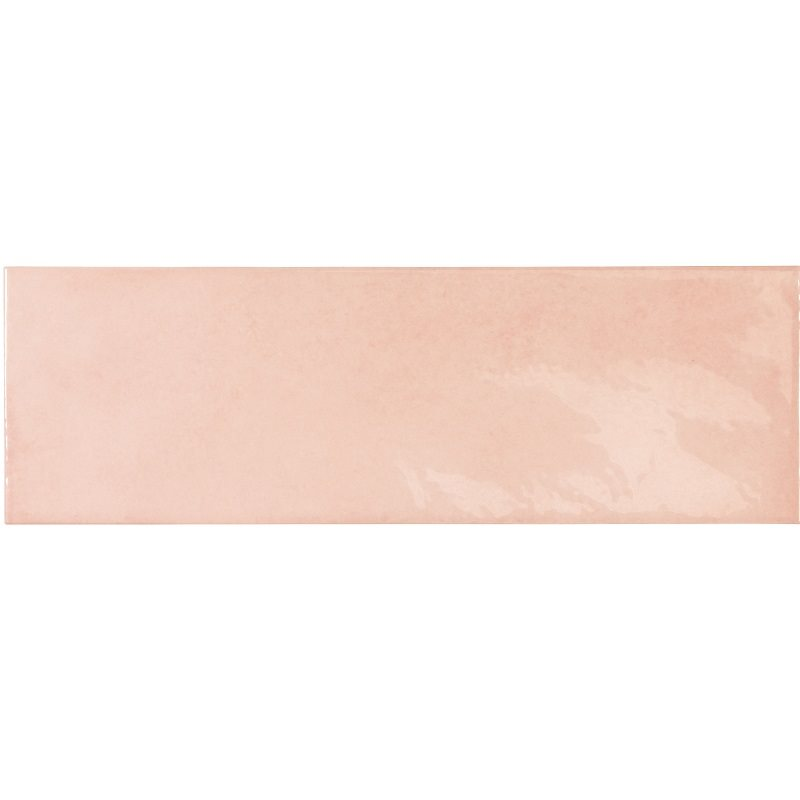 Faience effet zellige rose 6.5x20 VILLAGE ROSE GOLD 25635 - 0.5m² - zoom