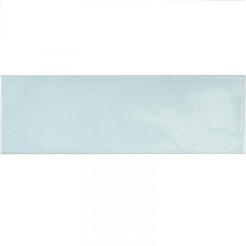 Faience effet zellige bleu ciel 6.5x20 VILLAGE CLOUD 25639 - 0.5m² Equipe