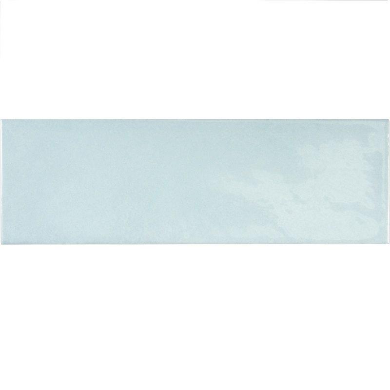 Faience effet zellige bleu ciel 6.5x20 VILLAGE CLOUD 25639 - 0.5m² - zoom