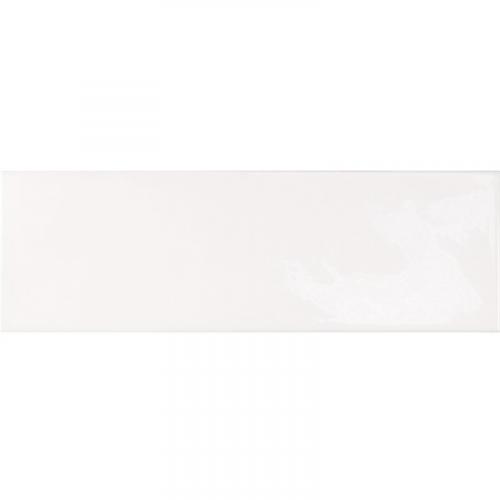 Faience effet zellige blanche 6.5x20 VILLAGE WHITE 25642 - 0.5 m² Equipe