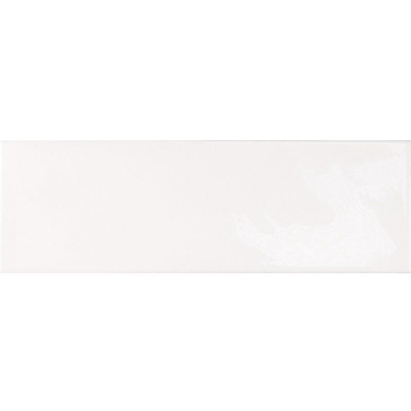 Faience effet zellige blanche 6.5x20 VILLAGE WHITE 25642 - 0.5 m² - zoom