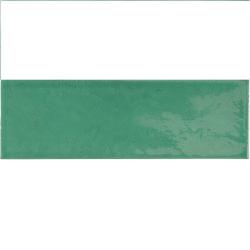 Faience effet zellige vert émeraude 6.5x20 VILLAGE ESMERALD GREEN 25645 - 0.5 m² Equipe