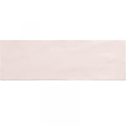 Faience nuancée effet zellige rose 6.5x20 RIVIERA ROSE 25839-0.5 m² Equipe