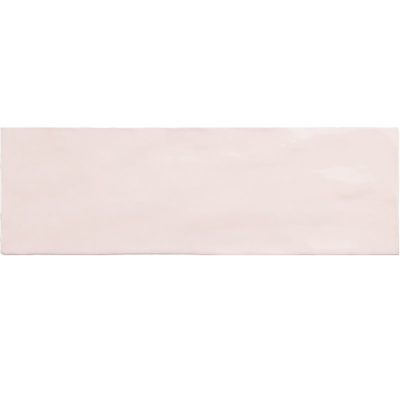 Faience nuancée effet zellige rose 6.5x20 RIVIERA ROSE 25839-0.5 m² - zoom