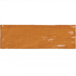 Faience nuancée effet zellige ocre 6.5x20 RIVIERA GINGER 25843- 0.5 m² Equipe