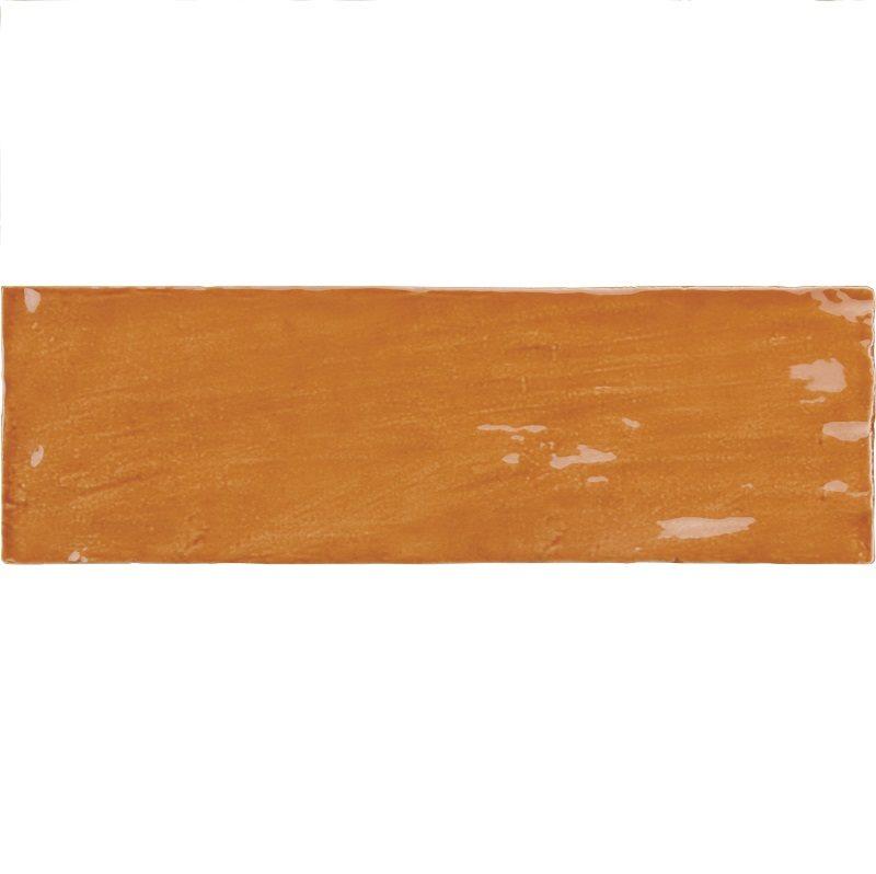 Faience nuancée effet zellige ocre 6.5x20 RIVIERA GINGER 25843- 0.5 m² - zoom