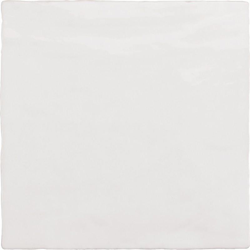 Faience nuancée effet zellige blanche 13.2x13.2 RIVIERA WHITE 25851-1 m² - zoom