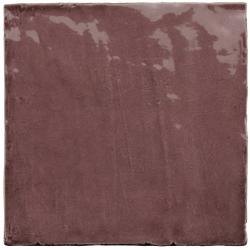 Faience nuancée effet zellige violet 13.2x13.2 RIVIERA JUNEBERRY 25858-1 m² Equipe