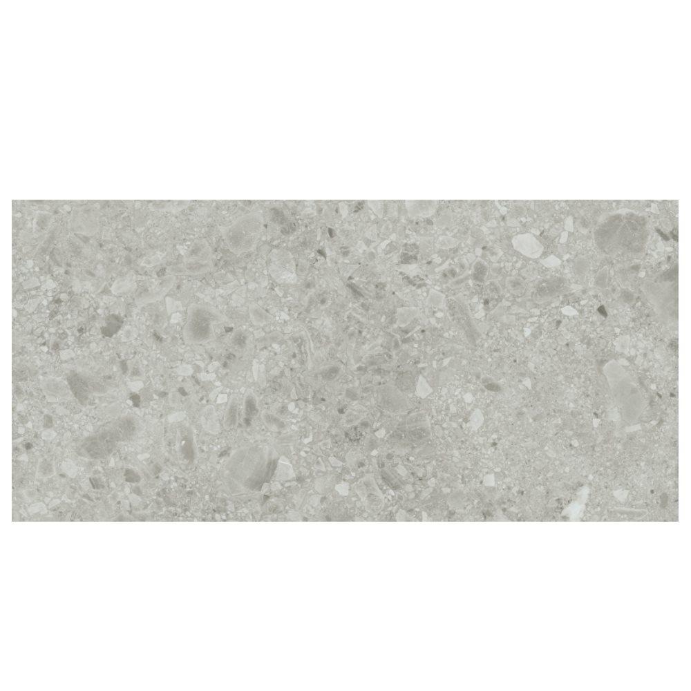 Carrelage gris imitation pierre 60x120cm HANNOVER STEEL R10 - 1.44m² - zoom