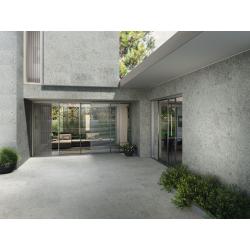 Carrelage gris imitation pierre 60x120cm HANNOVER STEEL R10 - 1.44m² Baldocer