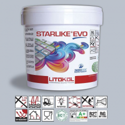 Litokol Starlike EVO Azzurro Polvere C.310 Mortier époxy - 5 kg Litokol