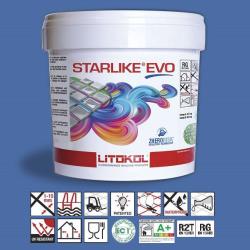 Litokol Starlike EVO Blu Zaffiro C.350 Mortier époxy - 5 kg Litokol