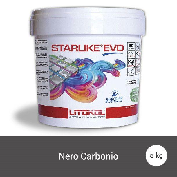 Litokol Starlike EVO Nero Carbonio C.145 Mortier époxy - 5 kg - zoom