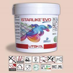 Litokol Starlike EVO Rosa Cipria C.500 Mortier époxy - 5 kg Litokol