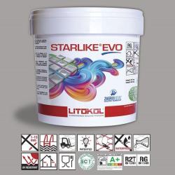 Litokol Starlike EVO Grigio Seta C.115 Mortier époxy - 5 kg Litokol