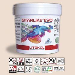 Litokol Starlike EVO Travertino C.205 Mortier époxy - 5 kg Litokol