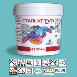 Litokol Starlike EVO Verde Smeraldo C.410 Mortier époxy - 5 kg Litokol