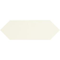Faience navette crayon beige brillant 10x30 PICKET IVORY - 1m² Ribesalbes