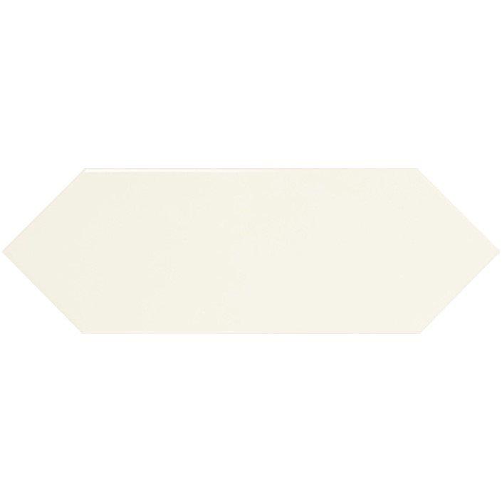 Faience navette crayon beige brillant 10x30 PICKET IVORY - 1m² - zoom