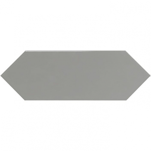 Faience navette crayon gris brillant 10x30 PICKET GREY - 1m² Ribesalbes