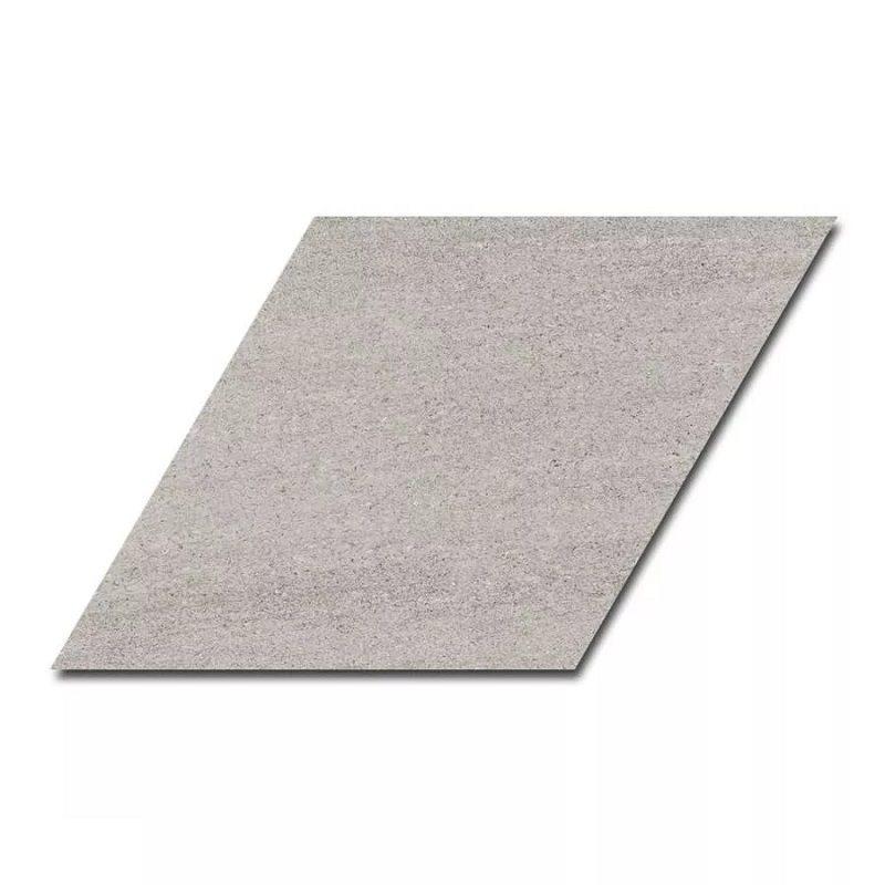 Carrelage losange géant gris 70x40 DIAMOND CITY GREY - 0.98m² - zoom